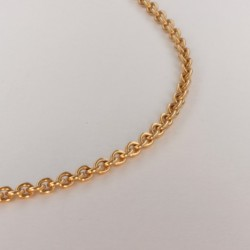 Necklace massive cable chain ~2.3mm ~45.5cm