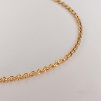 Necklace massive cable chain ~1.9mm ~45.5cm