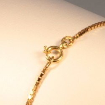 Necklace massive venitian chain ~1.3mm ~45.5cm