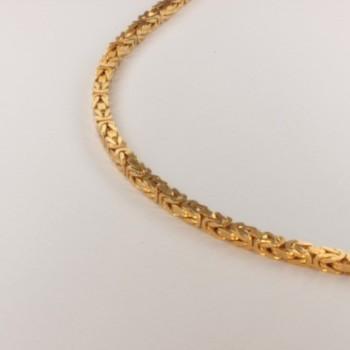 Königskette massiv Halsschmuck ~2mm ~45.5cm