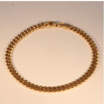 Bracelet massive gourmette chain ~5.15mm ~21cm