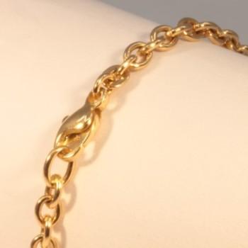 Bracelet massive cable chain ~3.7mm ~20.5cm