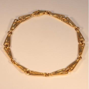 Bracelet massive old style chain ~5.3mm ~19cm