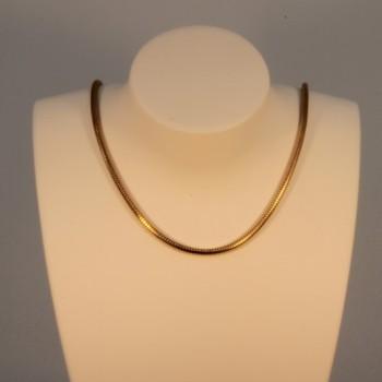 Collier chaîne serpent massive ~1.9mm ~45cm