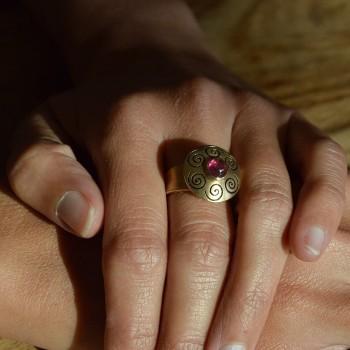 ORIMOON Rose ring