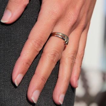 Zwei Gold Ring