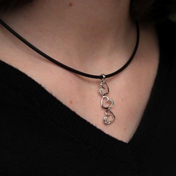 ORILOVE Brillant necklace