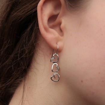 Boucles d'oreilles ORILOVE Brillant