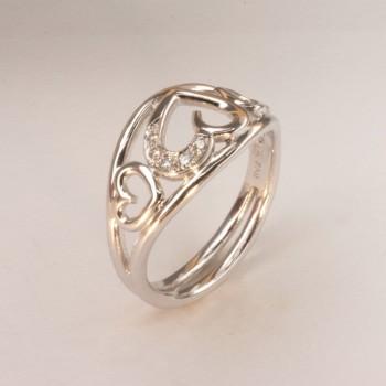 ORILOVE Brillant Ring