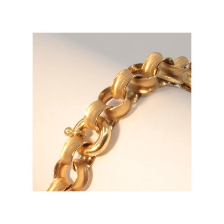 Bracelet chaîne Unique massive ~7.0mm ~20cm
