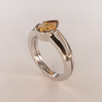 Citrine Jaune Ring