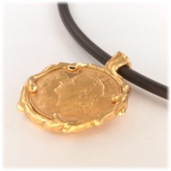 Swiss Vreneli pendant