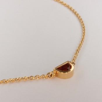 Madeira Quarz Halskette Anhänger ~38cm